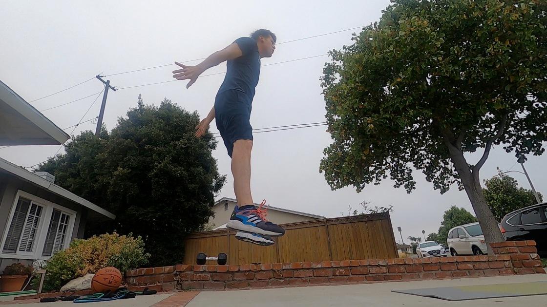 Jump squats!!